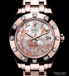 Rolex rose gold