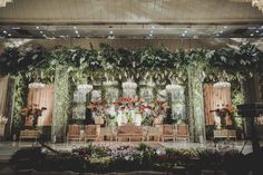 Enchanted Garden Wedding of Kevina and Panji - garden wedding