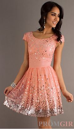 Soo cute but bring the skirt down almost to the knee. 8 grade dance! :)