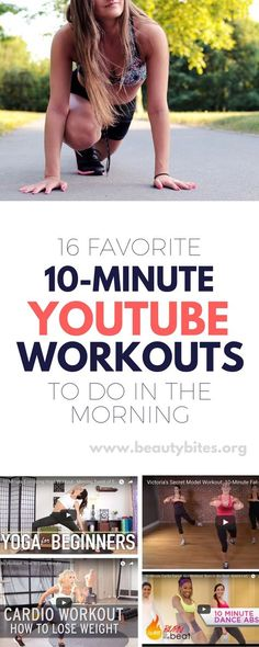 Quick 10-minute Youtube Workouts for the morning