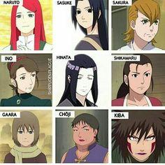 Moms in Naruto. Naruto Girls, Anime Naruto, Naruto Comic, Naruto Shippuden Sasuke, Naruto Kakashi, Naruto Fan Art, Shikamaru, Sasunaru, Gaara