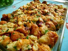 Bacon+and+Chive+Croissant+Pudding.jpg 1,600×1,200 pixels