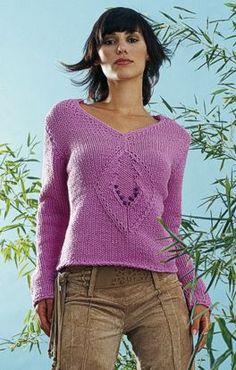 Free Knitting Pattern - Women's Sweaters: Tre Sweater