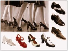 Light shoes like oxfords became popular. Besides, hosiery and nylon stockings were born. It looks quite similar to men's shoes Vintage Vogue, Vintage Glam, Vintage Shoes, Vintage Style, Fashion Mode, 1940s Fashion, Fashion Shoes, Vintage Fashion, Womens Fashion