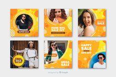 Online collection with promotional offers Social Media Branding, Social Media Design, Memphis, Instagram Frame, Instagram Posts, Instagram Feed, Post Design, Price Tag Design, Instagram Post Template