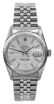 Rolex Datejust Silver Dial Watch. Get the lowest price on Rolex Datejust Silver Dial Watch and other fabulous designer clothing and accessories! Shop Tradesy now
