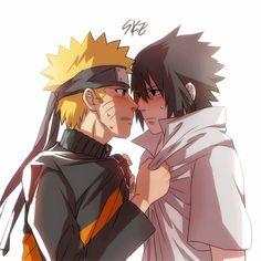 Naruto x Sasuke Naruto Vs Sasuke, Naruto Cute, Anime Naruto, Anime Guys, Sasunaru, Narusasu, Geeks, Fanart, Naruto Teams