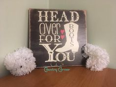 Searching for that perfect gift for that cowgirl in your life? Look no further! What better way to let her know how you feel than to get a sign to be displayed in her home for all the world to see! Si