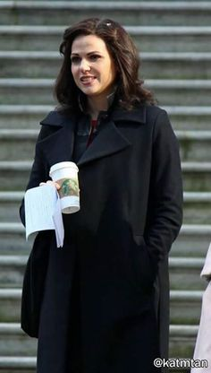 Awesome Lana (Regina) #Once #BTS Once S5B E23 #AnUnToldStory Once S5 Spring finale airs Sunday 5-15-16 #VancouverArtGallery #VancouverBC #Canada Monday 3-28-16