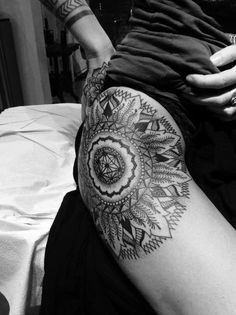 Amazing Mandala Tattoo Design for Women