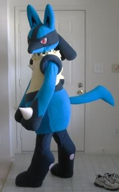 lucario cosplay by scatnix costumes pinterest art