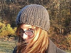Top down, any gauge. Ravelry: My Simple Hat pattern by Emily House