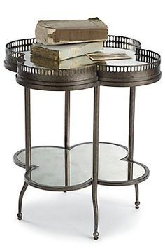 Quatrefoil Picardy Accent Table