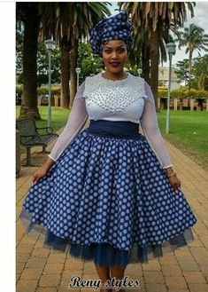 Traditional African clothing & shweshwe dresses All a babe needs is an commodity of Traditional African clothing with the appropriate Wedding Dresses South Africa, African Wedding Dress, African Print Dresses, African Fashion Dresses, African Dress, Ghanaian Fashion, African Prints, African Fashion Traditional, South African Fashion
