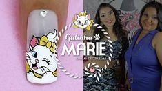 Unhas Decoradas da Gatinha Marie para o Ano Novo | Cola na Villar