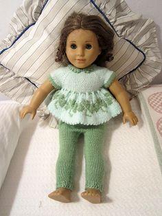 Sport weight Ravelry: kimmyz's Leggings for American Girl Doll (Free Pattern)