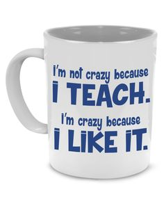 Funny Thank You Teacher Coffee Mug - a Cool Unique Gift, Printed on Both Sides!