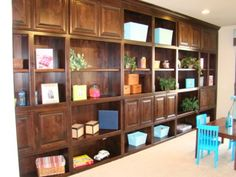 If you need cabinets AND shelving, say no more! Check out the Lake Hallie Cabinets & Design showroom and we'll help you find the perfect look for your home! Closet Designs, Cabinet Design, New Builds, Mudroom, Your Space, Home Remodeling, Showroom, Countertops, Shelving