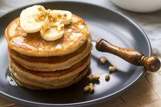 Így készül a banacsinta: puha, pufi, laktató banános édesség Plantain Pancakes, Brunch, Favorite Recipes, Meals, Breakfast, Ethnic Recipes, Food, Natural, Stress