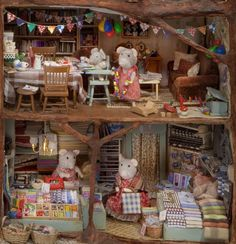 Miniatures - Birthday-mouse! - The Mouse Mansion