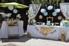 Angel baby baptism | CatchMyParty.com