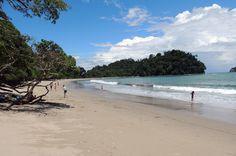 View of Espadilla Sur Beach looking back Manuel Antonio National Park