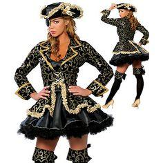 セクシー な女性コスプレパーティー衣装デラックス海賊コスチューム アダルト コスプレハロウィーンファンタジア衣装ため womeninstyles