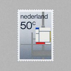 De Stijl. Netherlands, 1983. Design: Wim Crouwel http://grafiktrafik.tumblr.com