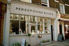 (Lambs Conduit Street shop, March 2009. (Photo by Lisa Borgnes Giramonti.)  -  I would work there!  It's the most enchanting bookshop in the world.