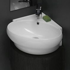 Cerastyle Corner Bathroom Sink