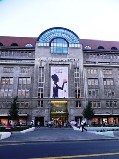 One of the main attraction of luxury shopping of the city - KaDeWe