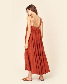 The LuLu Dress | Rust