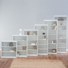 Remmington Heavy Duty Bookcase - White - Bookcases at Hayneedle