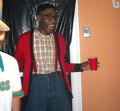 Steve Urkel - 65 Halloween Costume Ideas for Guys via Brit + Co