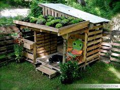 37 идея использования палетт на даче