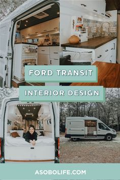 A campervan conversion isn't simply about wood working and electric wiring. Because of the very limited space inside a van, thinking about interior design is a lot more important than most average homes. Campervan Conversions Layout, Van Conversion Layout, Camper Van Conversion Diy, Van Conversion Ford Transit, Ford Transit Campervan, Build A Camper Van, Interior Design Guide, Campervan Interior, House On Wheels