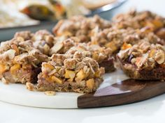 Get Fruity Crumble Bars Recipe from Food Network