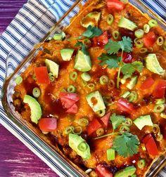 Chickpea Enchilada Casserole