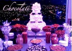 Mesa de dulces Candy Buffet - Baja California
