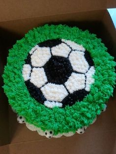 Soccer Themed Cake By newhomebaker on CakeCentral.com