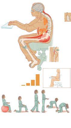 The health hazards of sitting