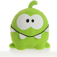 Cut the Rope Cuddle Pillow, Om Nom