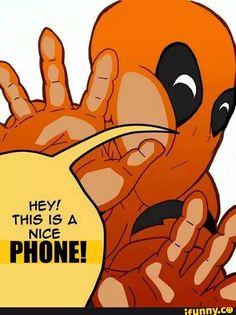 Deadpool iPhone wallpaper