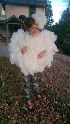 Thunder Cloud costume- complete with flashing lights and storm sounds