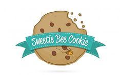 Sweetie Bee Cookie Logo Tasarımı (Logo Design)