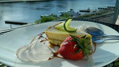 A little slice of Key West in the middle of downtown Richmond at the Conch Republic. #keylimepie #jamesriver #viistrichmond #dinerichmond #rva
