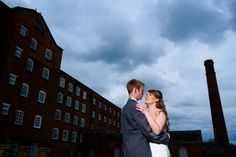 Shona and Ollie: A blue and yellow urban wedding in an old industrial mill – Bouquet Catch Brogues, Real Weddings, Bouquet, Industrial, Urban, Couple Photos, Yellow, Blog, Couple Shots