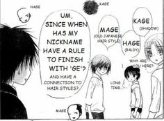 A funny part from Gakuen Alice manga