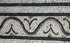 Decorative border on a Roman Mosaic, Rome | Flickr - Photo Sharing!