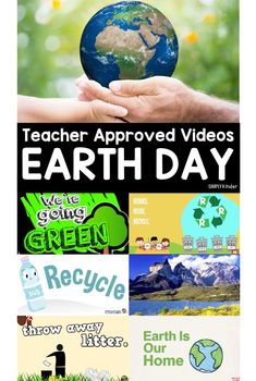 Teacher Approved Earth Day Videos! A great resource for Earth Day this spring!